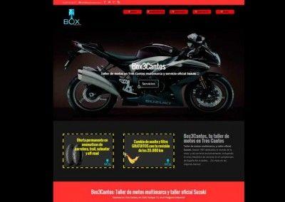 Box3Cantos, Taller de motos en Tres Cantos